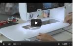 video návod ukázka Šicí a vyšívací stroj Bernina 880