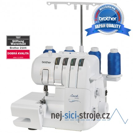 Brother 2104D - overlock
