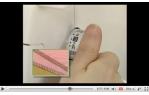 video návod ukázka Brother M 3034 D - overlock