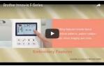 video návod ukázka Vyšívací stroj Brother Innov-is F440e