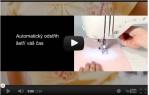 video návod ukázka Vyšívací stroj Brother INNOV NV 750 E