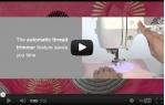 video návod ukázka Šicí a vyšívací stroj Brother INNOV NV 955