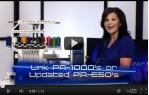 video návod ukázka Vyšívací stroj Brother PR 1000 E desetijehlový