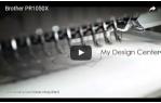 video návod ukázka Vyšívací stroj Brother PR 1050X desetijehlový