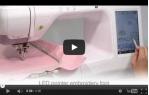 video návod ukázka Vyšívací stroj Brother INNOV-is V3