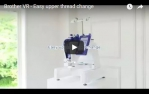 video návod ukázka Vyšívací stroj Brother VR