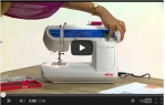 video návod ukázka Šicí stroj Elna eXperience 520