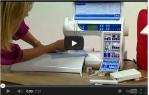 video návod ukázka Šicí stroj Elna eXperience 660