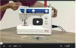 video návod ukázka Šicí stroj Elna eXplore 240