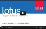 video návod ukázka Šicí stroj Elna Lotus