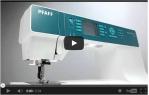 video návod ukázka Šicí stroj Pfaff EXPRESSION 4.2