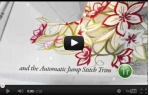 video návod ukázka Šicí a vyšívací stroj Husqvarna Designer Topaz 30