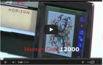 video návod ukázka Šicí a vyšívací stroj Janome MC 12000 HORIZON