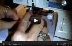 video návod ukázka Janome 1200D Overlock i Coverlock