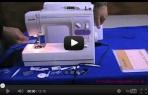 video návod ukázka Šicí stroj Janome 2522