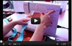 video návod ukázka Šicí stroj Janome 415
