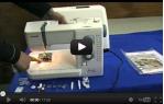 video návod ukázka Šicí stroj Janome 525 S