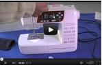 video návod ukázka Šicí stroj Janome 601