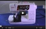 video návod ukázka Šicí stroj Janome 603 DXL