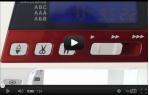 video návod ukázka Šicí stroj Janome 607 + rozšiřující stolek