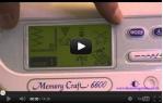 video návod ukázka Šicí stroj Janome Memory Craft MC 6600 Professional