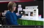 video návod ukázka Šicí stroj Janome Horizon MC 8200 QC