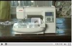 video návod ukázka Vyšívací stroj Janome Memory Craft 200 E, MC 200 E + výšivky ZDARMA