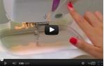 video návod ukázka Vyšívací stroj Janome MC 350 E + výšivky ZDARMA