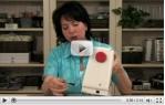 video návod ukázka Šicí stroj Sew Mini