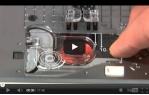video návod ukázka Šicí stroj JUKI HZL F300