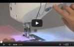 video návod ukázka Šicí stroj JUKI HZL F400