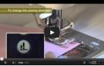 video návod ukázka Šicí stroj JUKI HZL K85
