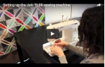 video návod ukázka Šicí stroj JUKI TL 2200 QVP Mini