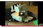 video návod ukázka Merrylock MK 3050 CL - overlock i coverlock