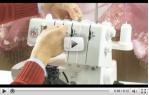 video návod ukázka Merrylock MK 3040 - coverlock