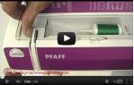 video návod ukázka Šicí stroj Pfaff SELECT 3.2