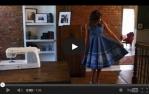 video návod ukázka Šicí a vyšívací stroj Singer Futura XL 550