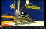 video návod ukázka Šicí stroj Veronica 404