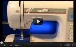video návod ukázka Šicí stroj Veronica Inspira 600