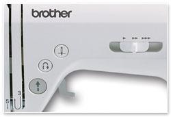 Brother NV - ovládací tlačítka