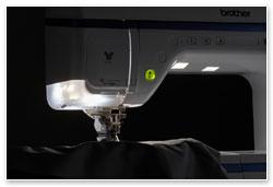 Brother VQ4 - LED světla
